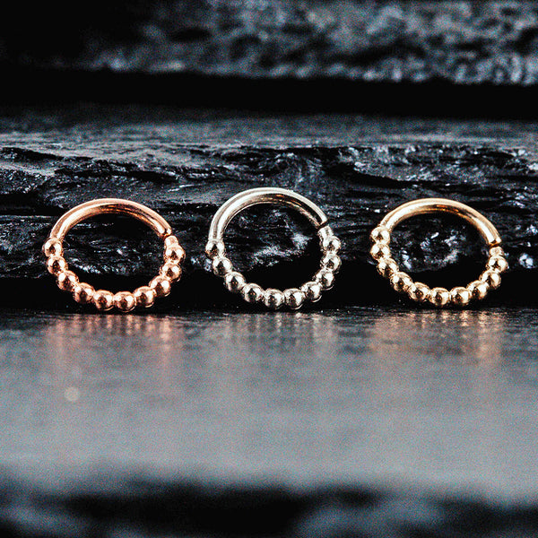 gold body jewelry rings