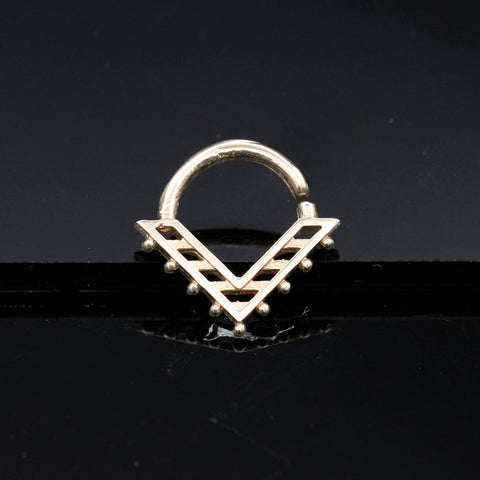 bohemian triangle septum clicker