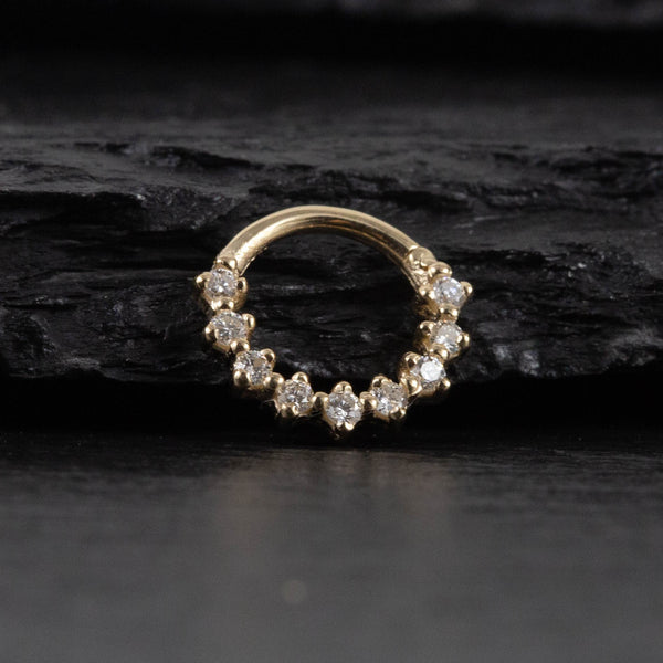 The Cleo Nose Ring In Gold