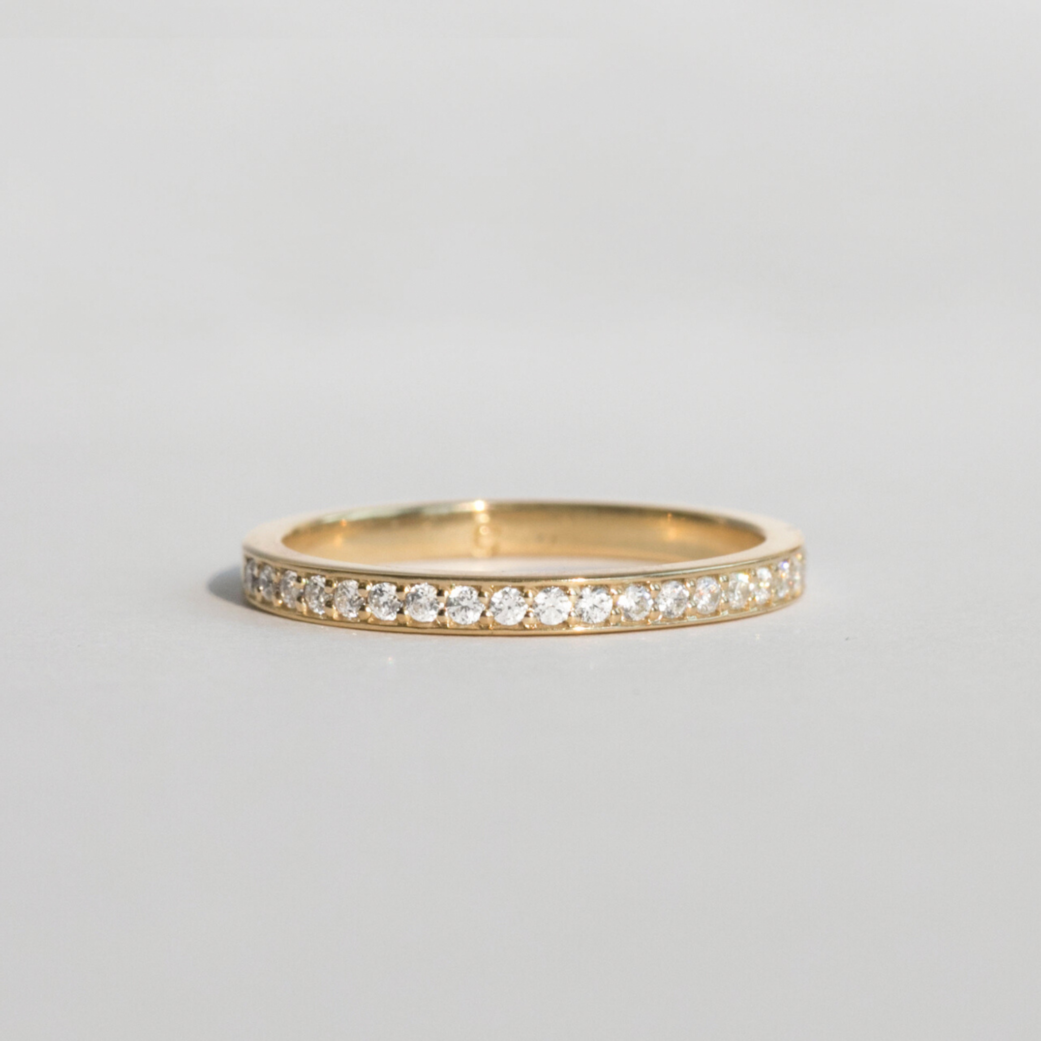 diamond stackable semi-eternity