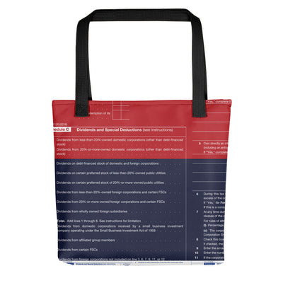 Accounting - IRS Dividends - Tote bag
