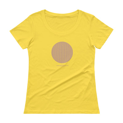 Mathematics - Ladies' Scoopneck T-Shirt