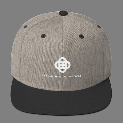 Optometry - Wool Blend Snapback