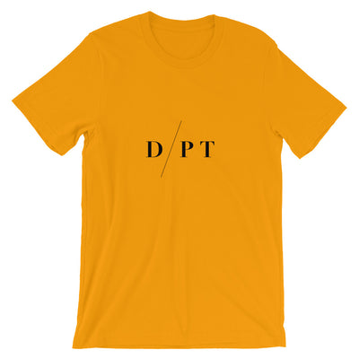 D/PT - Doctor of Physio-Therapy - Unisex T-Shirt