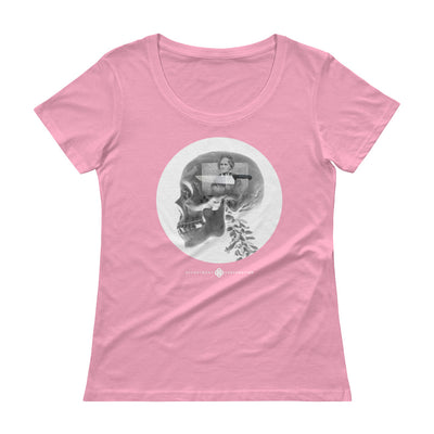 Psychology -  Ladies' Scoopneck T-Shirt