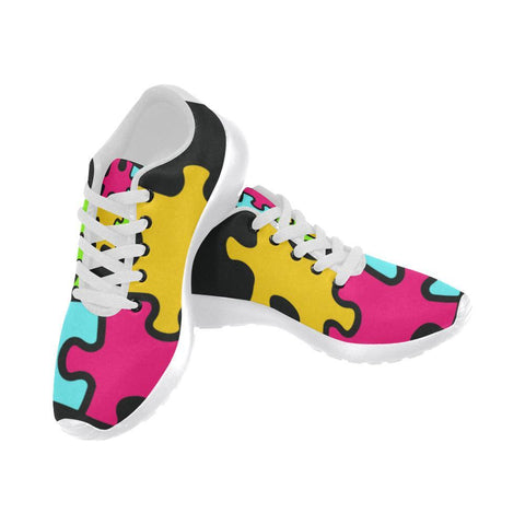 Image of Autism Design 9 Women's Sneakers-Sneakers-JEFAMO