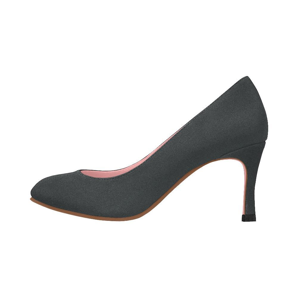 Black Design 1 Women's Pumps-High Heels-JEFAMO
