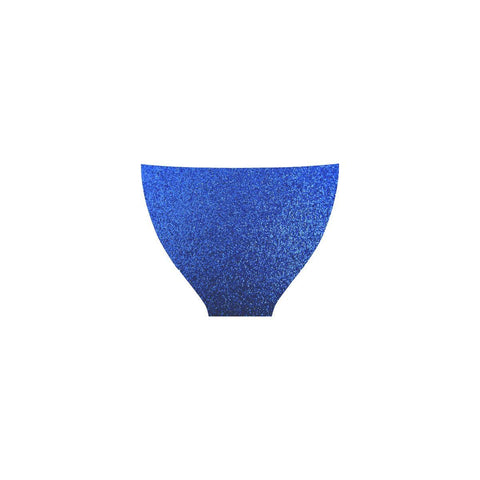 Image of Blue Glitter Custom Bikini Swimsuit-Swimwear-JEFAMO