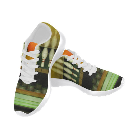 Image of Bowling Design 2 Women's Sneakers-Sneakers-JEFAMO