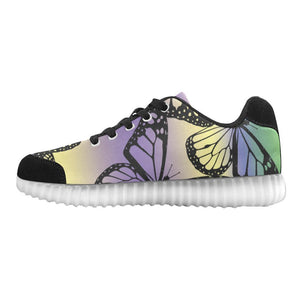 Butterfly Design 1 Light Up Casual Women's Shoes