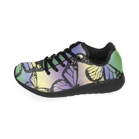 Butterfly Design 1 Women's Sneakers-Sneakers-JEFAMO
