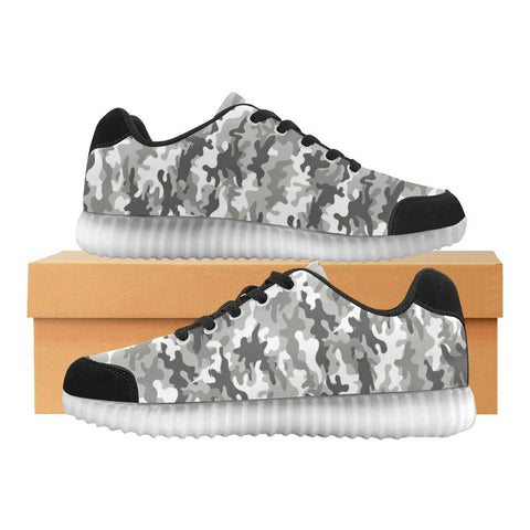 Camouflage Design 1 Light Up Casual Men's Shoes-Light Up Shoes-JEFAMO