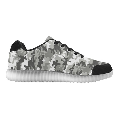 Camouflage Design 1 Light Up Casual Women's Shoes-Light Up Shoes-JEFAMO