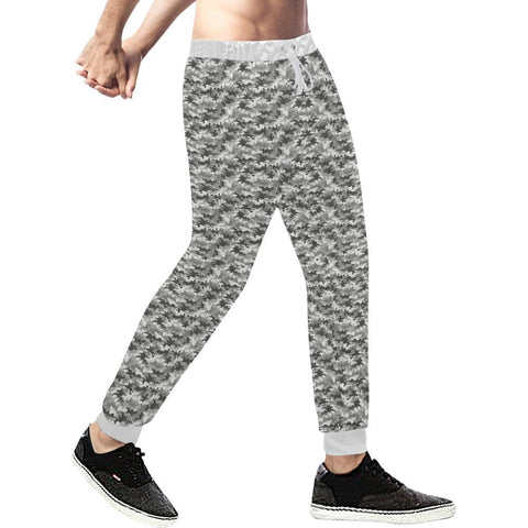 Camouflage Design 1 Men's All Over Print Casual Jogger Pants-Pants-JEFAMO