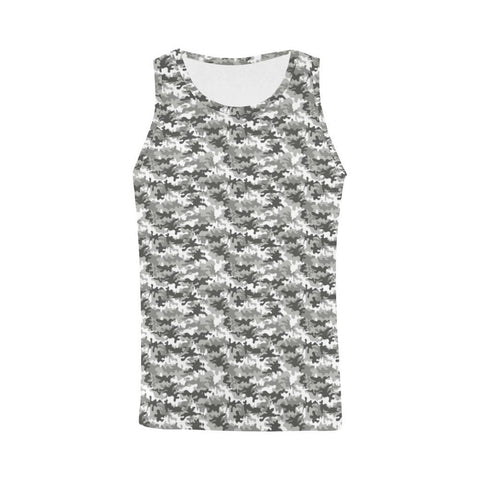 Image of Camouflage Design 1 Men's All Over Print Tank Top-Tank Tops-JEFAMO