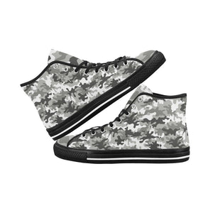 Camouflage Design 1 Vancouver High Top Canvas Men's Shoes