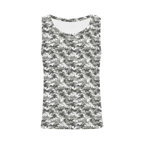Camouflage Design 1 Women's All Over Print Tank Top-Tank Tops-JEFAMO