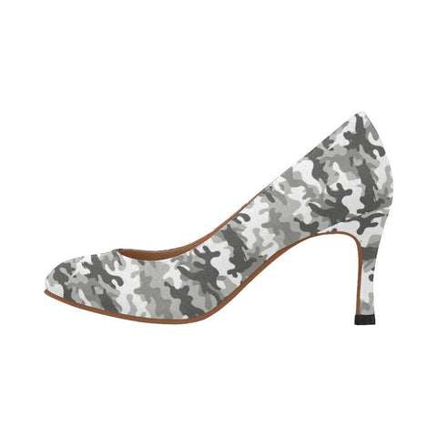 Camouflage Design 1 Women's Pumps-High Heels-JEFAMO