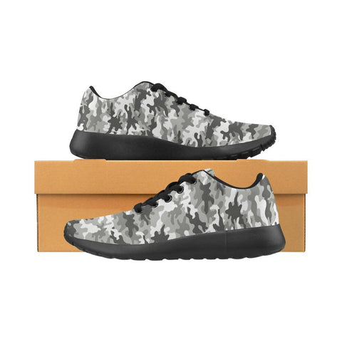 Image of Camouflage Design 1 Women's Sneakers-Sneakers-JEFAMO