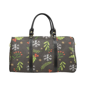Christmas Pattern 5 Travel Bag Black (Small) (Model1639)