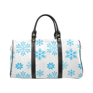 Christmas Pattern 7 Travel Bag Black (Small) (Model1639)-Travel Bags-JEFAMO