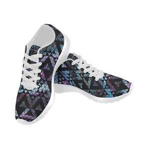 Colorful Prism Triangles Design 2 Women's Sneakers