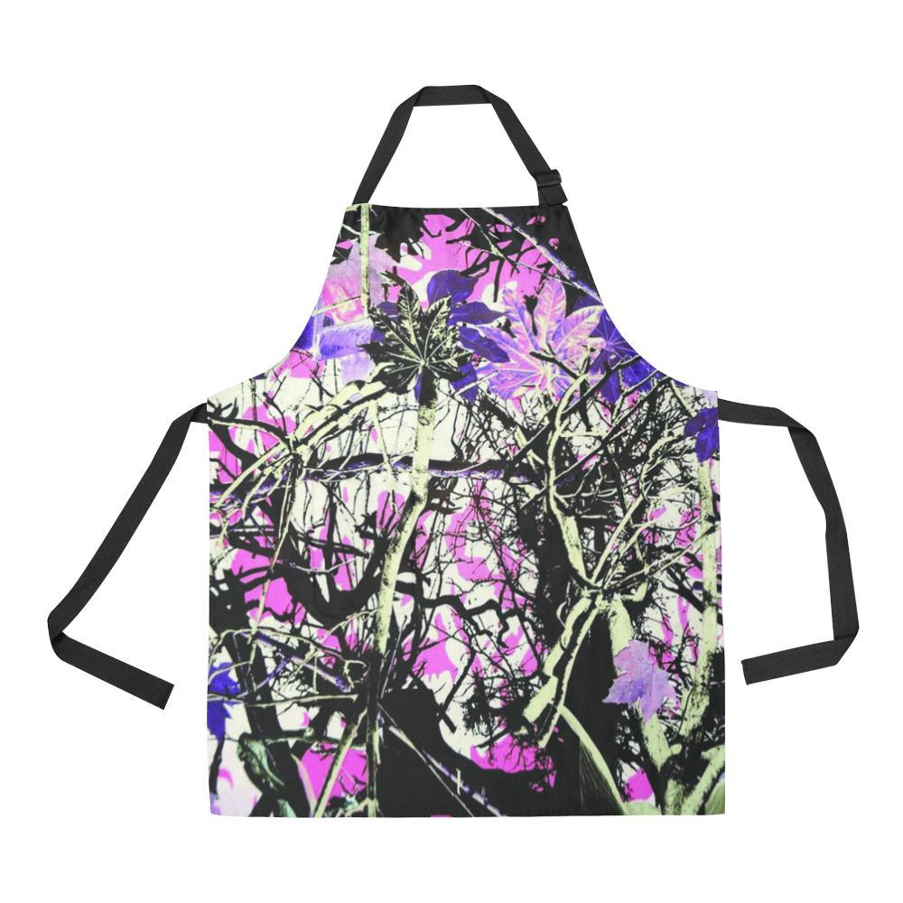 Country Girl Design 1 All Over Print Adjustable Apron-Aprons-JEFAMO