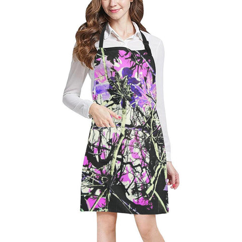 Image of Country Girl Design 1 All Over Print Adjustable Apron-Aprons-JEFAMO