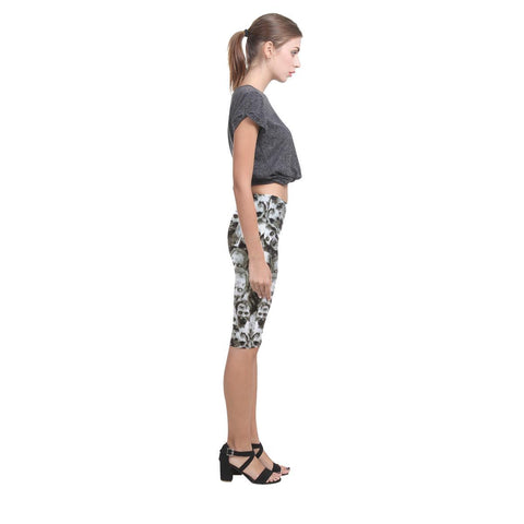 Image of Creeper Z Zombies All-Over Cropped Leggings-Leggings-JEFAMO