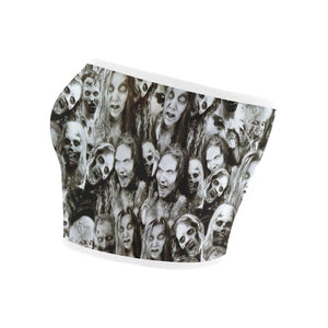Creeper Z Zombies Bandeau Top