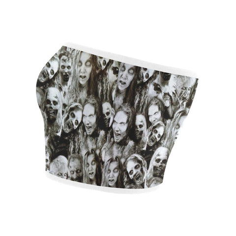 Image of Creeper Z Zombies Bandeau Top-Tank Tops-JEFAMO
