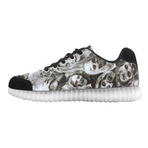 Creeper Z Zombies Light Up Casual Men's Shoes
