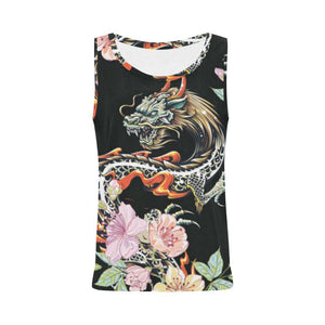 Dragon Design 1 Women's All Over Print Tank Top-Tank Tops-JEFAMO