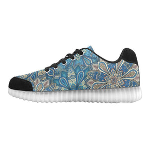 Embroidered Design 1 Light Up Casual Women's Shoes