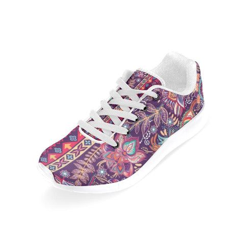Embroidered Design 2 Women's Sneakers-Sneakers-JEFAMO