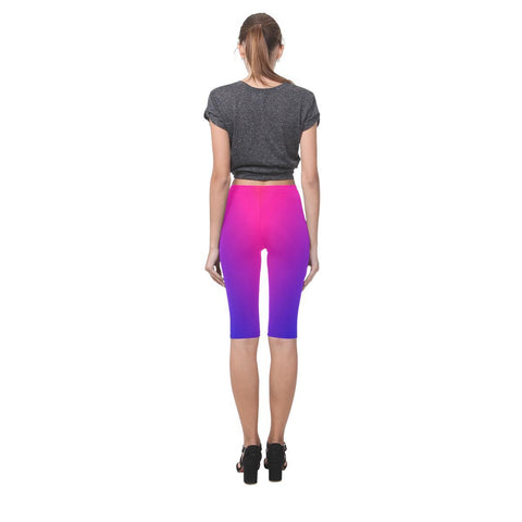 Fabled Sunset Design 1 All-Over Cropped Leggings-Leggings-JEFAMO