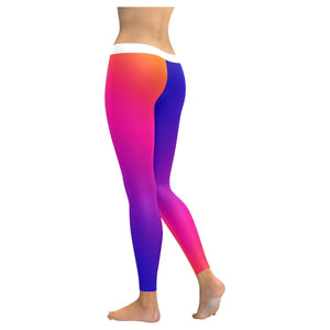 Fabled Sunset Design 1 All-Over Low Rise Leggings