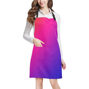 Fabled Sunset Design 1 All Over Print Adjustable Apron-Aprons-JEFAMO