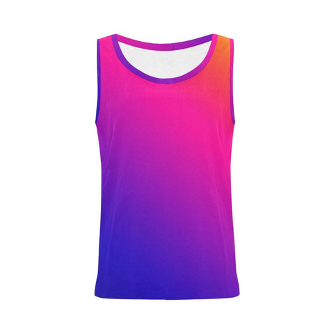 Image of Fabled Sunset Design 1 Women's All Over Print Tank Top-Tank Tops-JEFAMO