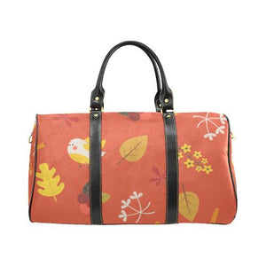 Floral Design Travel Bag Black (Small) (Model1639)
