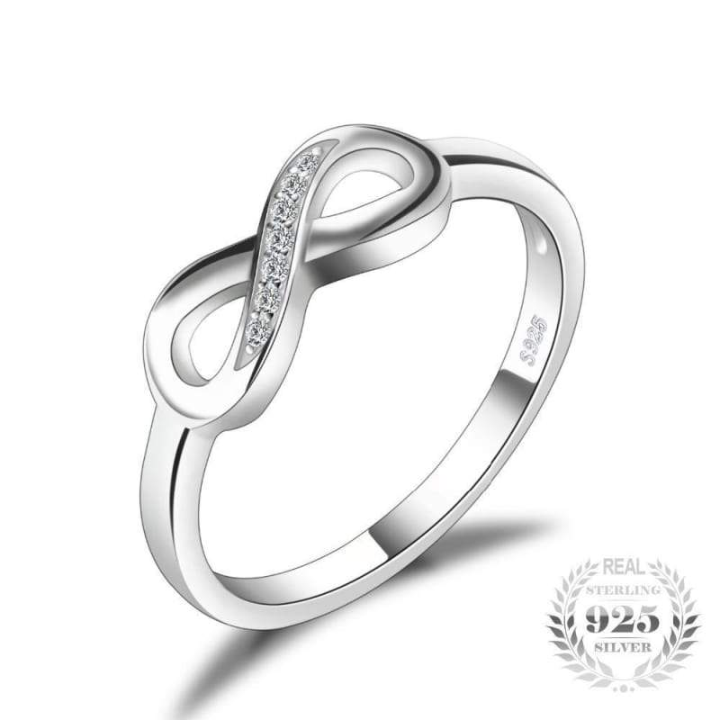 4a975dab3 Forever Love Infinity Ring 925 Sterling Silver-JP_RINGS-JEFAMO. Click to  zoom