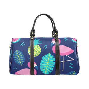 Fruity Design Travel Bag Black (Small) (Model1639)