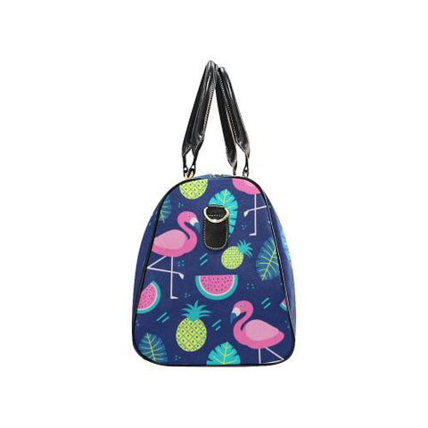 Fruity Design Travel Bag Black (Small) (Model1639)-Travel Bags-JEFAMO