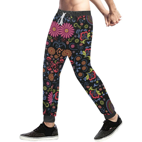 Glory Refuge Design 1 Men's All Over Print Casual Jogger Pants-Pants-JEFAMO