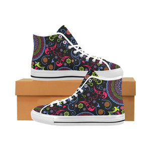 Glory Refuge Design 1 Vancouver High Top Canvas Men's Shoes-Canvas Shoes-JEFAMO