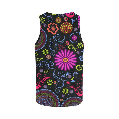Glory Refuge Design 1 Women's All Over Print Tank Top-Tank Tops-JEFAMO