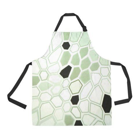 Image of Hex Camo Design 1 All Over Print Adjustable Apron-Aprons-JEFAMO