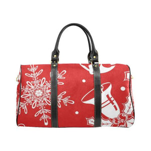 Holiday Cheer Travel Bag Black (Small) (Model1639)