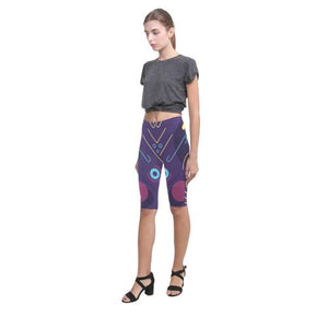 Pattern Design 11 All-Over Cropped Leggings (Model L03)