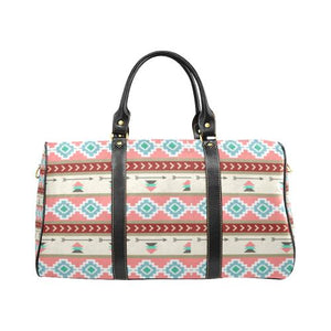 Pattern Design 14 Travel Bag Black (Small) (Model1639)